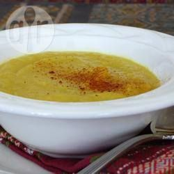 Spicy parsnip soup @ allrecipes.co.uk
