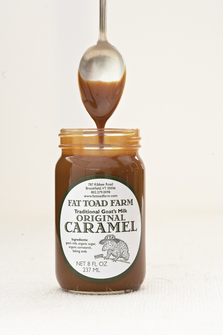 Fat Toad Farm creates caramels like you've never seen or tasted. The family goats make all the difference!