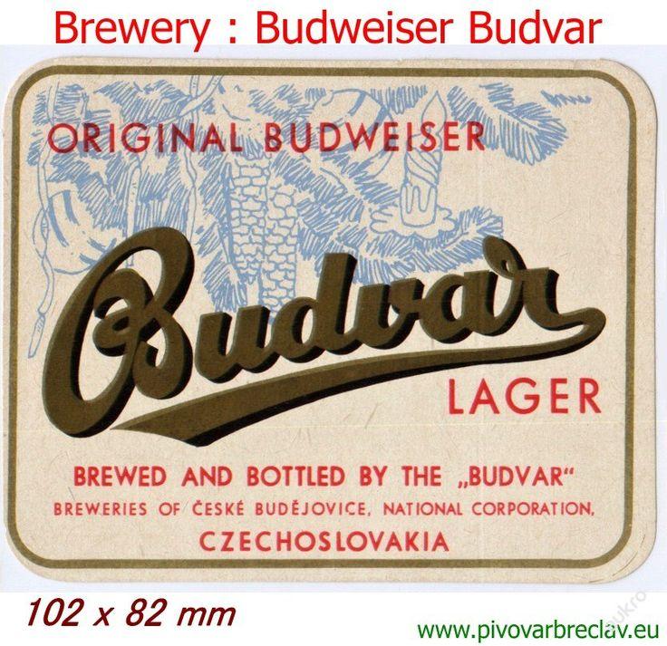 PEMD 1 ks stará etiketa EXPORT BUDVAR LAGER 17 (6395942267) - Aukro - největší obchodní portál