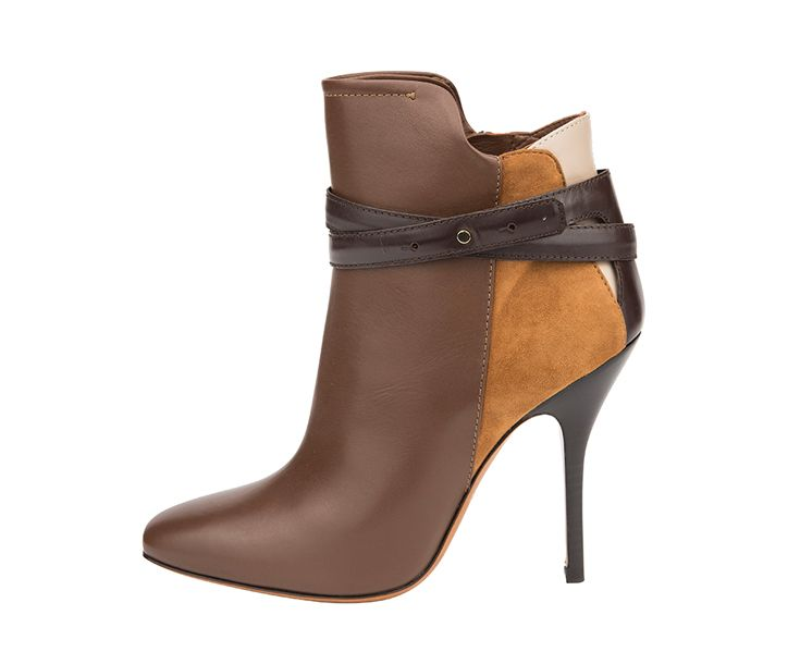 Brown ankle boots from #Bally to make every autumn outfit to a perfect one #ParndorfMustHave