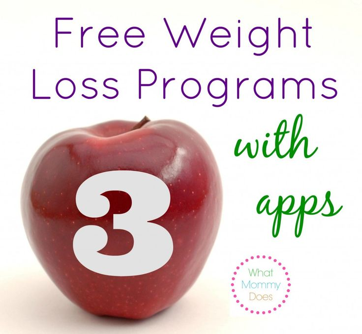 3 Free Weight Loss Programs with Apps - Get Food Trackers, Diet Plans & More