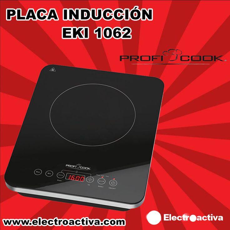 ¡¡Rapidez y calidad a la hora de preparar o calentar tu comida!! Placa de Inducción PROFICOOK EKI 1062 http://www.electroactiva.com/proficook-placa-de-inducion-eki-1062.html #Elmejorprecio #PlacadeInduccion #Cocina #Electrodomestico #PymesUnidas
