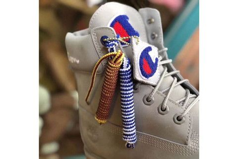 A Champion X Timberland Boot Collaboration Surfaces Shoe Timberland X Champion Shoes