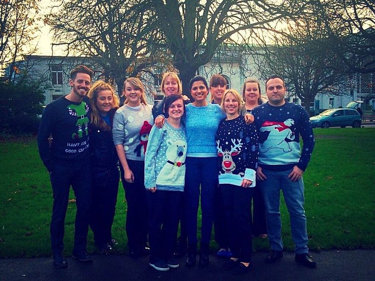 It was Christmas Jumper Day today at Southampton Orthodontic Centre! The feeling of Christmas is definitely upon us here!