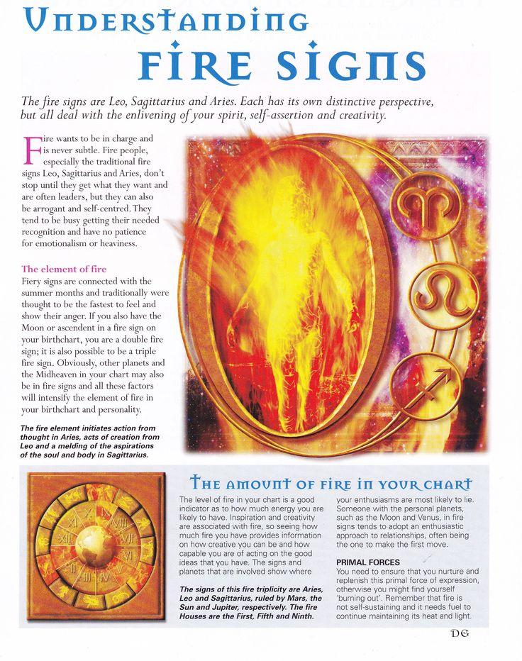 Astrology:  Understanding Fire Signs.