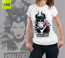 T-SHIRT TEES Maleficent Malefica movie film woman maglia donna http://www.ebay.it/itm/T-SHIRT-TEES-Maleficent-Malefica-movie-film-woman-maglia-donna-/181705809510