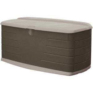 Lockable Plastic Garden Storage Box