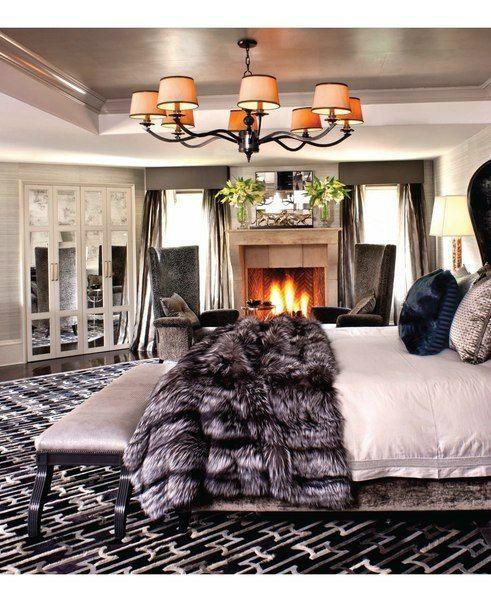 Chambres | Une chambre rustique | #chambres, #décoration, #luxe. Plus de nouveautés sur magasinsdeco.fr/