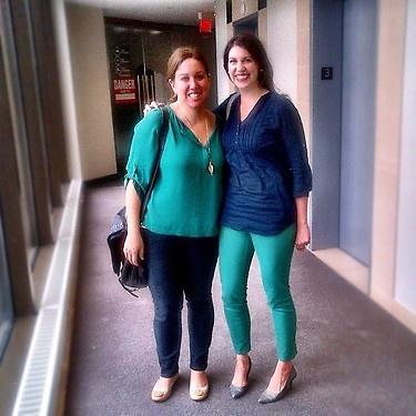 Colour combos @edelmanto by @sandradambrosio @sarah_brandon cc: @jeanmean #twinsies #edelstyle