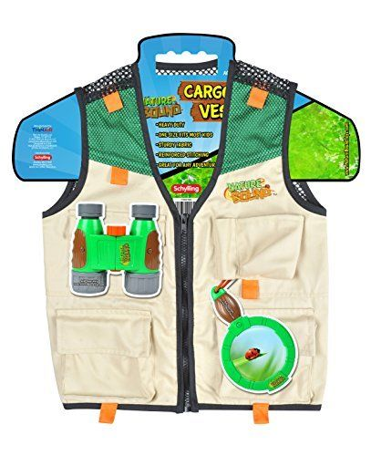 Cool Nature Bound Cargo Vest for Kids with Zipper Pockets and Durable Stitching by