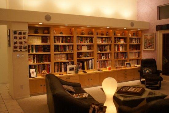 IKEA Built-In Bookcase wall (Billy, Effektiv, Lack)
