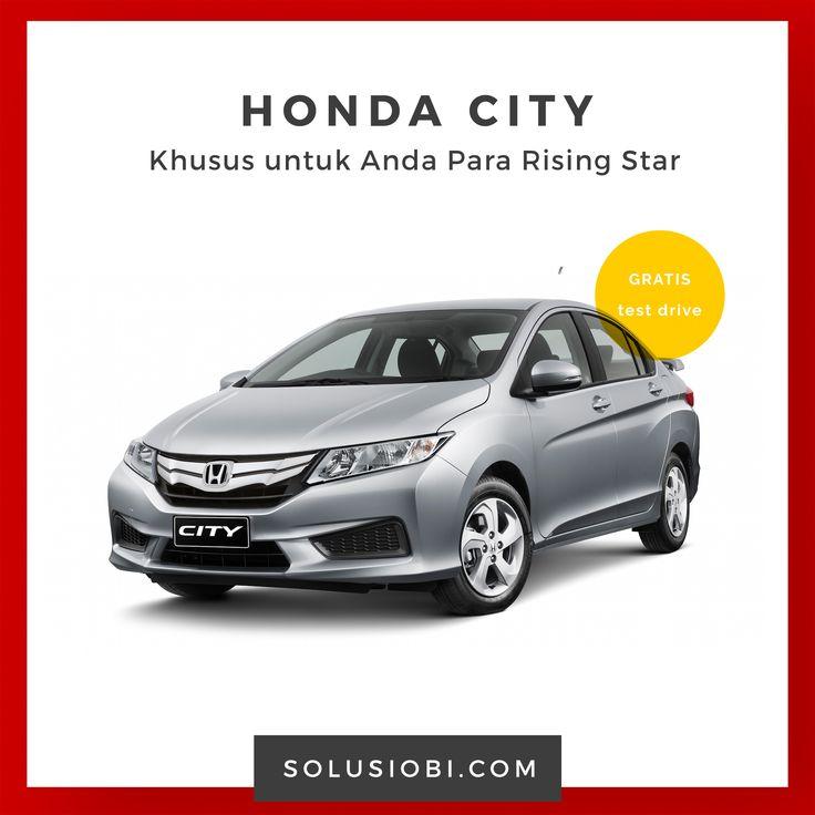 Mobil Honda City  Desain baru yang lebih dinamis, dibekali dengan mesin i-VTEC dengan tenaga terbesar di kelasnya, juga kabin yang semakin lega dan kapasitas bagasi luas siap menampung impian Anda dan melaju . . .