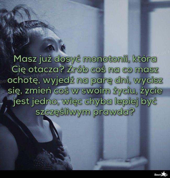 BESTY.pl - Masz już dosyć monotonii, która Cię otacza? Zrób coś na co masz ochotę, wyjedź na parę dni, wycis...