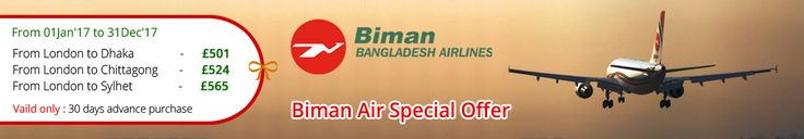 Biman Air offering cheap flights to Bangladesh including both Business and Economy class. It specializes in flights to Bangladesh and ensure reliability, confidence, fair pricing which increases our clients globally. In return, we give them even more discounts throughout the year.