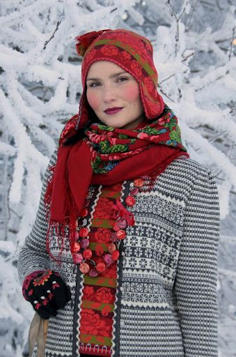 Oleana Nordic sweaters:  this is my idea of gorgeous ethnic clothing