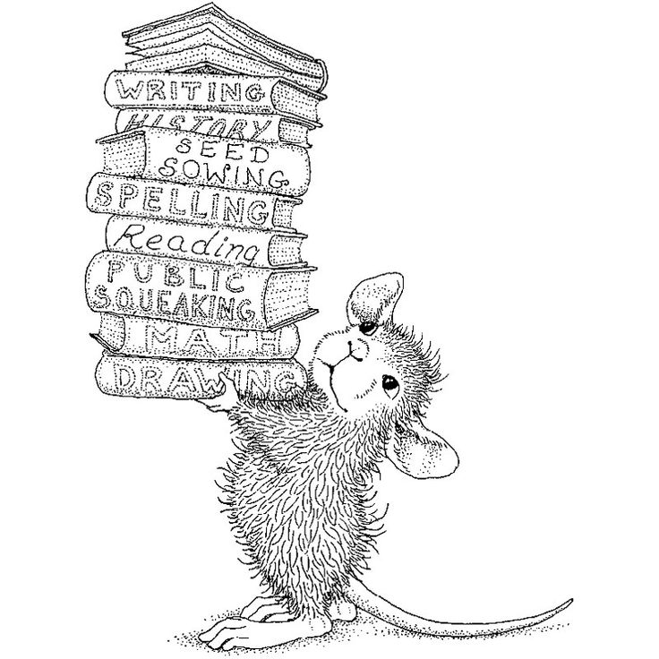 house mouse colouring - Google Search