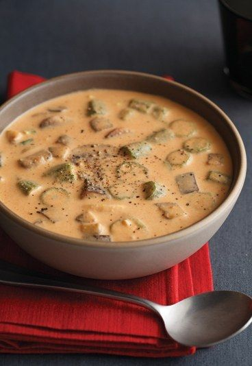 Scharfes Curry-Gemüse mit Okra, Zucchini und Auberginen. Lecker das Rezept auf www.gofeminin.de