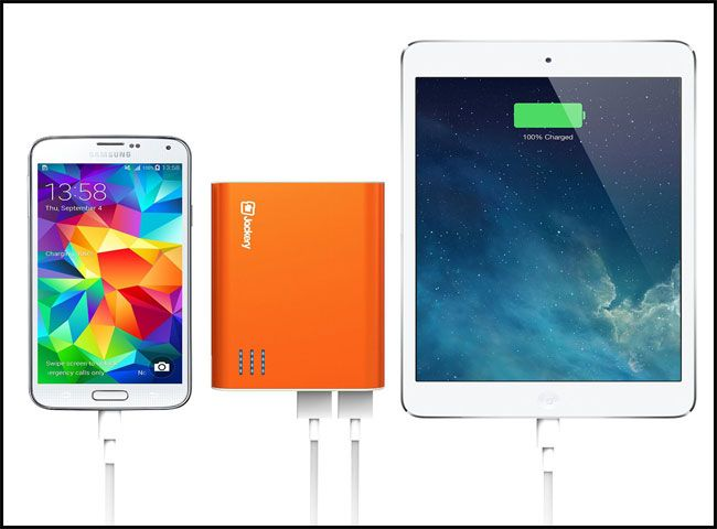 Jackery Giant+ Dual USB Portable Battery Charger:Best Christmas Gifts 2015