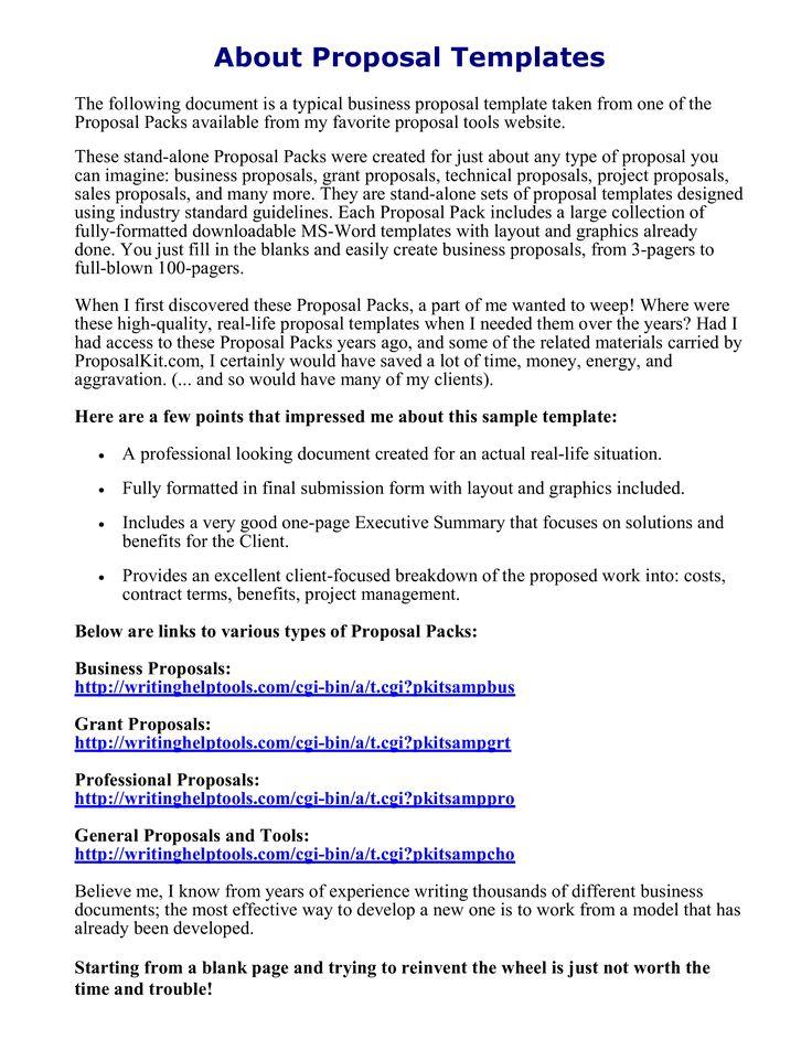 Sample Business Proposal Letter for Partnership Lovely