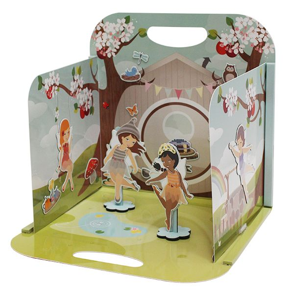 Fairy Tree House Magna Carry. Set up your very own fairy treehouse at home! Dress up gorgeous little fairies in a range of magnetic costumes and decorate your fairy treehouse. $32.95 AUD Including delivery!