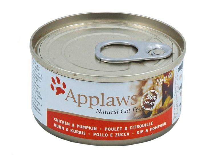 #Applaws #Katzenfutter mit Hühnchen & Kürbis