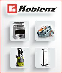 Tienda en línea Koblenz ofrece la venta de aspiradoras, hidrolavadoras, estufas, campanas, parrillas, hornos, lavadoras, reguladores, no breaks y supresores