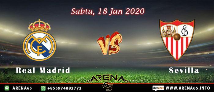 Prediksi Real Madrid Vs Sevilla 18 Januari 2020 In 2020 Real Madrid Atletico Madrid Madrid