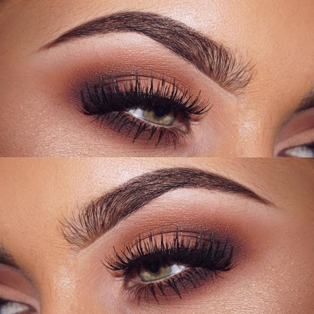 neutral brown smokey eye makeup @jamiegenevieve