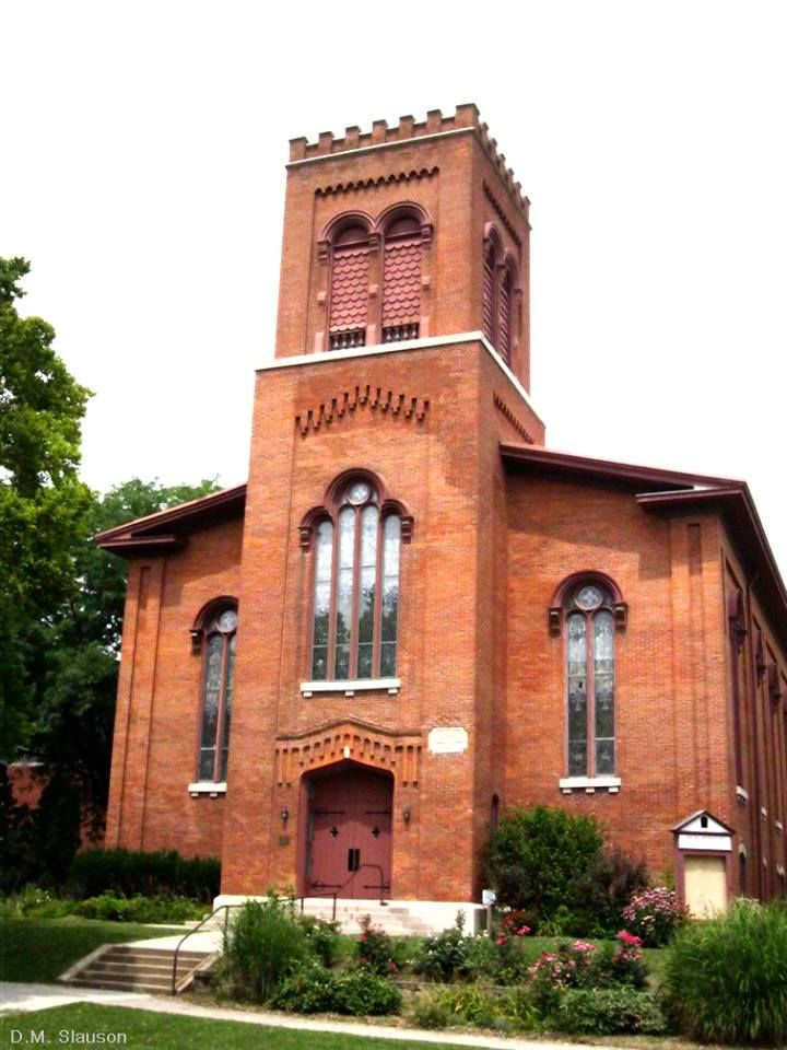 Fairfield Iowa 1911 Postcard Interior First Presbyterian Church