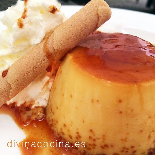 Flan de leche condensada » Divina CocinaRecetas fáciles, cocina andaluza y del mundo. » Divina Cocina