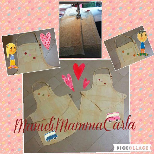 ManidiMammaCarla: Un regalo per i miei aiutanti in cucina