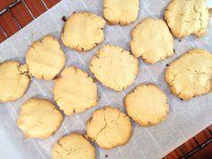 Печенье из кокосовой муки (gluten-free coconut flour cookies) - Следы жизни