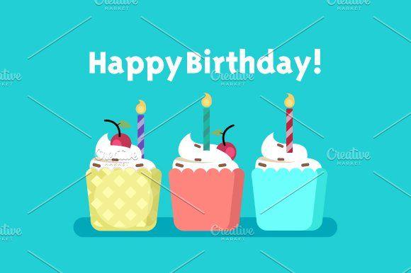 4 X Happy Birthday Cards Happy Birthday Cards Happy Birthday Wishes Birthday Card Template