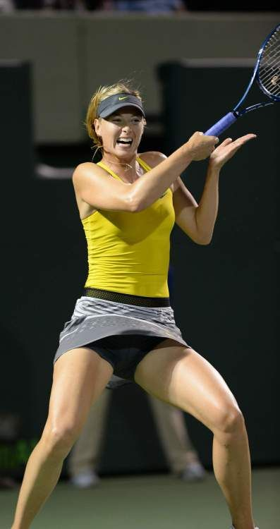 Sorry, that Tenni upskirt maria sharapova All