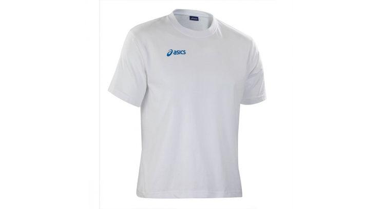 Asics rövid ujjú póló fehér unisex