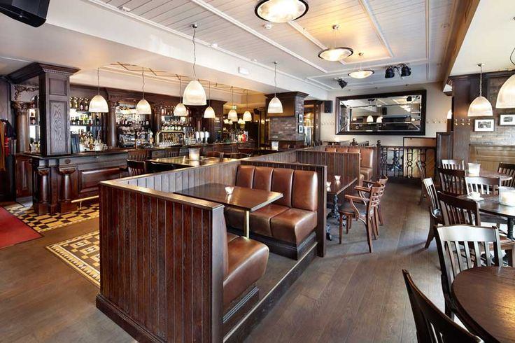 Pub design by Andy Thornton Ltd / Amundsen Bryggeri & Spiseri