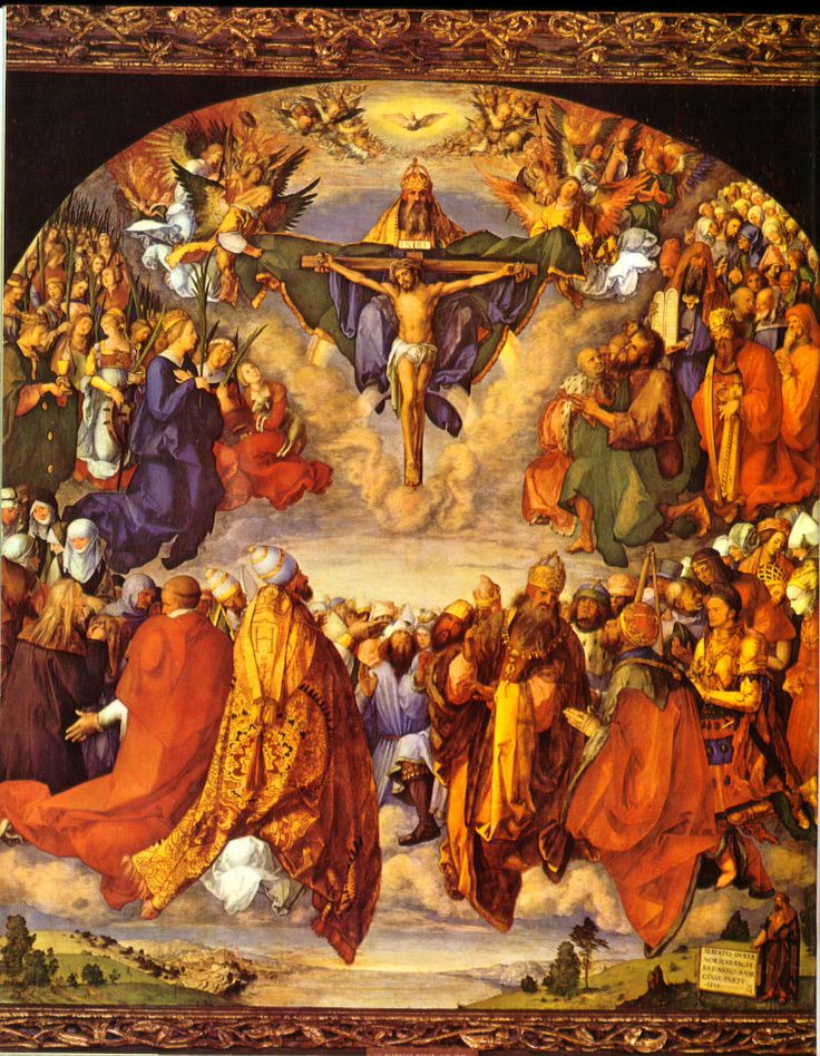 The Solemnity of All Saints originally began in the 4th century to commemorate all the Christian martyrs during those centuries of brutal persecution before Christianity was legalized.