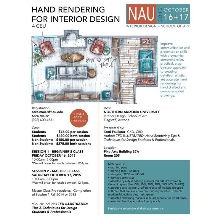 Okthis Is The Line Up For Rendering Workshops That Have Been