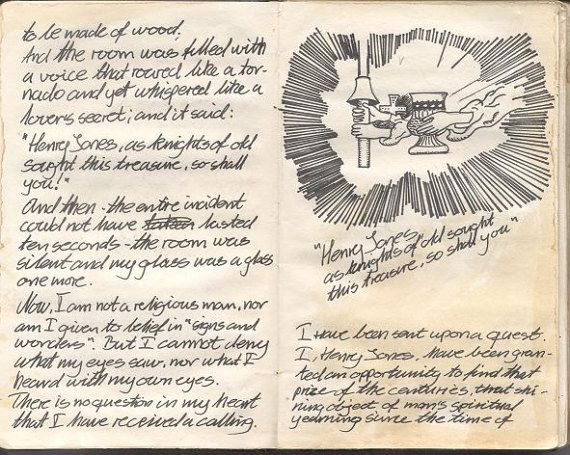Indiana Jones Ultimate Grail Diary Movie Prop Replica Download