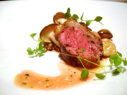42 best images about fine dining entrees on pinterest for American cuisine presentation