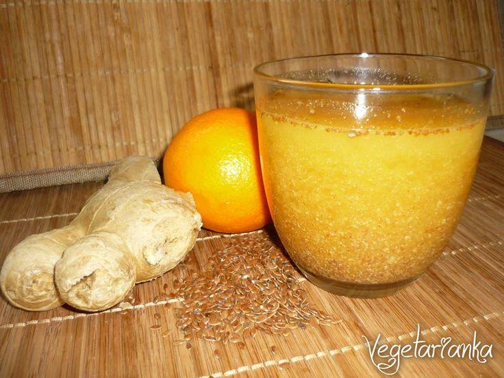 Pomarančový nápoj imunity