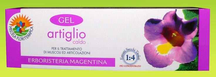 Gel effetto caldo Artiglio del Diavolo 100 ml Erboristeria Magentina