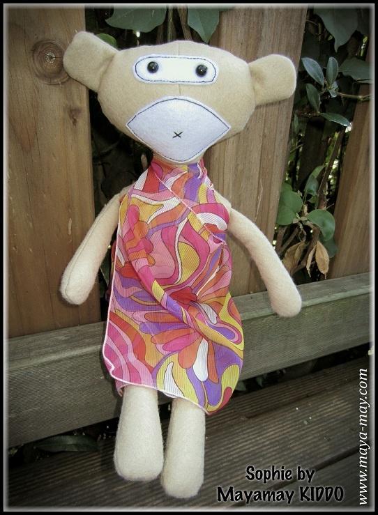 Meet our new plush friends SOPHIE by MM KIDDO!. |Price: AUD18.00/IDR95,000  |www.maya-may.com |Enquiries: mayamay24@gmail.com. Text : Angela +61413504255 (Australia) #dolls #plushies #felt #handmade #kids #toys #gifts
