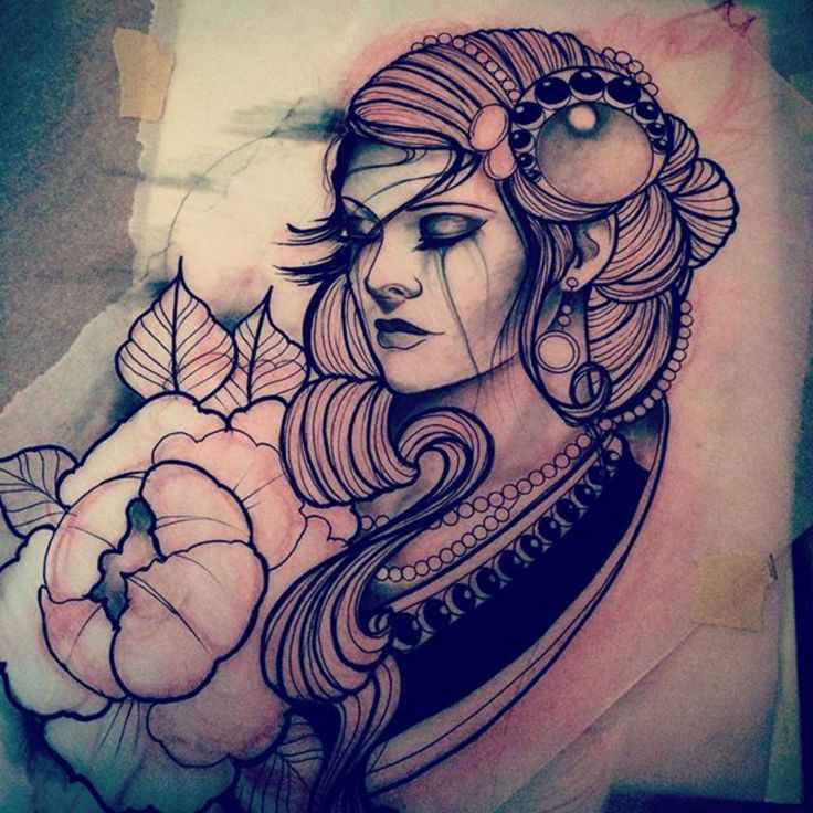 Tattoo Woman Gypsy: Best 25+ Gypsy Tattoo Design Ideas On Pinterest