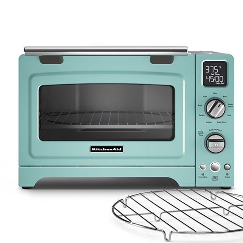 KitchenAid Convection Countertop Toaster Oven in Sky Blue