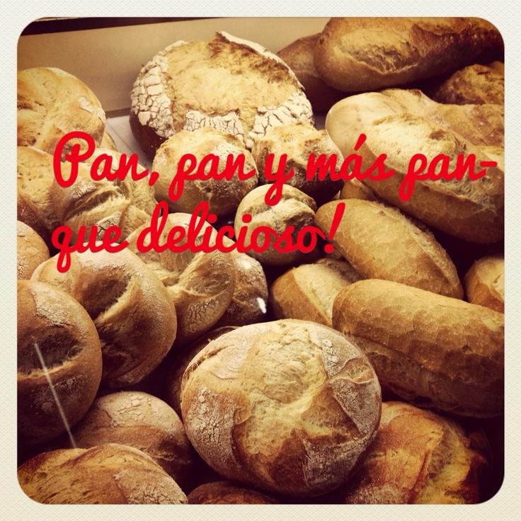 Bread, bread and more bread. How delicious