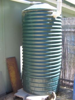 rainwater catchment system - Need to do this for my dogs water...lol