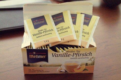 Meßmer Weißer Tee Vanille-Pfirsich