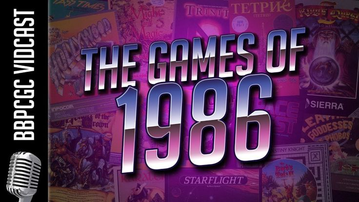 Computer Games from 1986 - BBPCGC VidCast