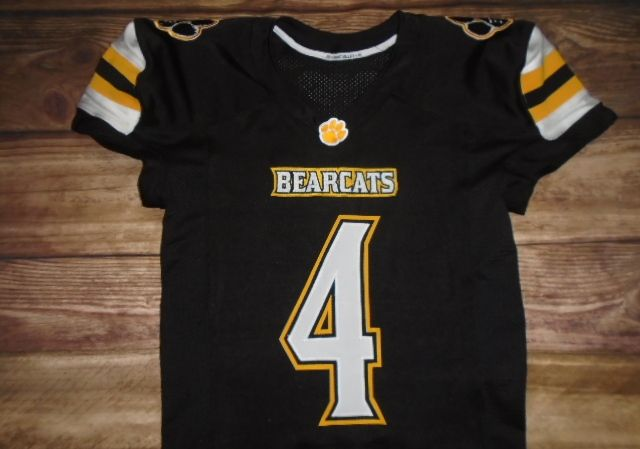 Paint Valley Bearcats Football designed this custom jersey and CNK Athletic Equipment in Circleville, OH created it for the team! http://www.garbathletics.com/blog/bearcats-football-custom-jersey-2/ Create your own custom uniforms at www.garbathletics.com!
